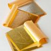 Płatki mosiądzu złote