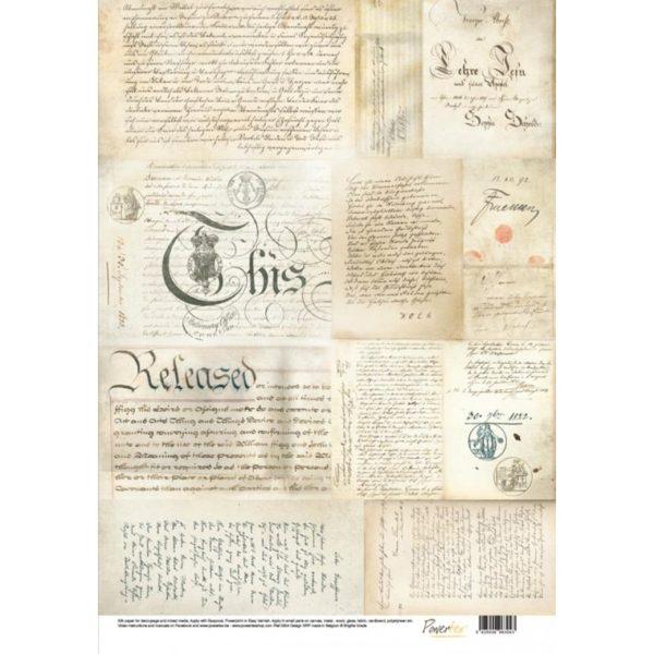 papier-jedwabny-stare-reczne-pismo